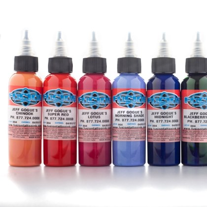 Fusion Ink - Jeff Gogue Signature Series - 8 pack set 60ml
