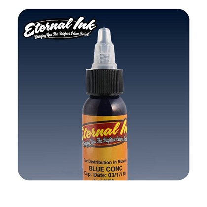 Eternal Tattoo Ink - Blue Concentrate 60ml