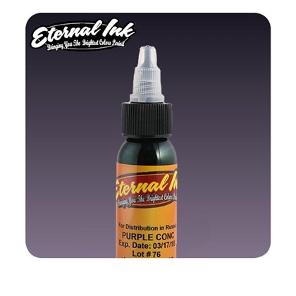 Eternal Tattoo Ink - Purple Concentrate 30ml